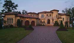 Tuscan Style House Plans Plan: 106-737