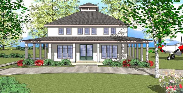 Coastal Style House Plans Plan: 107-102