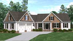 Craftsman Style House Plans 109-109
