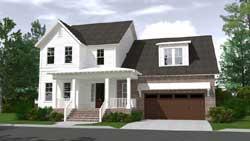 Modern-Farmhouse Style House Plans Plan: 109-110