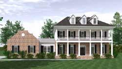 Plantation Style Floor Plans Plan: 109-114