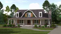 Country Style Floor Plans Plan: 109-118
