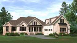Modern-Farmhouse Style House Plans Plan: 109-120