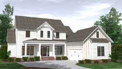 Modern-Farmhouse Style House Plans 109-122