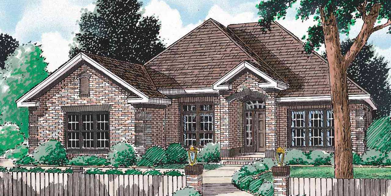 Traditional Style Floor Plans Plan: 11-102