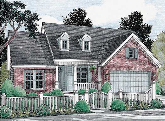 Country Style Floor Plans Plan: 11-103