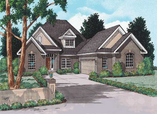 Traditional Style Home Design Plan: 11-106