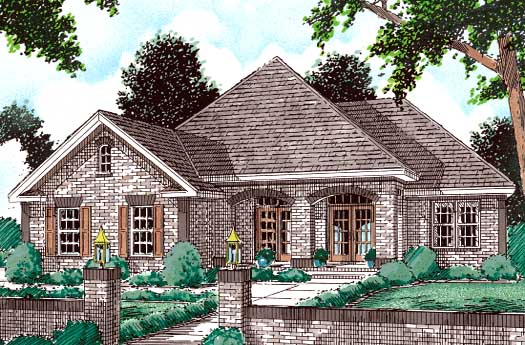 Traditional Style House Plans Plan: 11-110