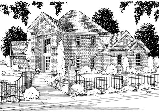 Traditional Style Floor Plans Plan: 11-111