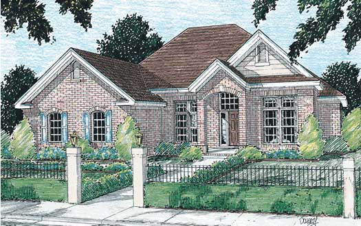 Traditional Style House Plans Plan: 11-112