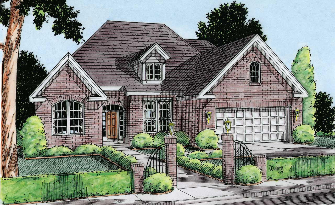 Traditional Style Floor Plans Plan: 11-114