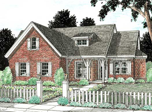 Traditional Style Floor Plans Plan: 11-115