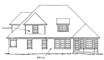 Rear Elevation Plan: 11-116
