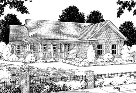 Traditional Style House Plans Plan: 11-118