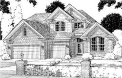 Traditional Style Home Design Plan: 11-120