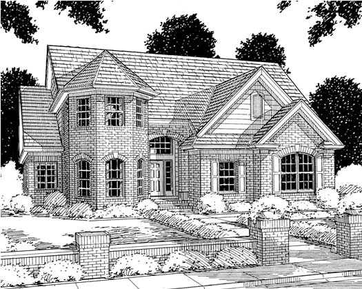 Traditional Style House Plans Plan: 11-121