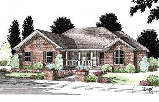 Traditional Style Floor Plans Plan: 11-126