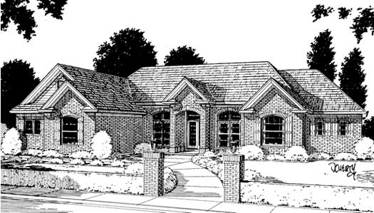 Traditional Style Floor Plans Plan: 11-127