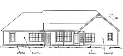 Rear Elevations Plan:11-127