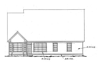 Rear Elevations Plan:11-128