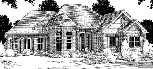 Traditional Style Floor Plans Plan: 11-130