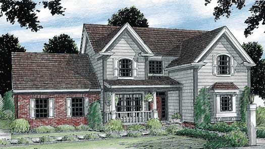 Traditional Style House Plans Plan: 11-131