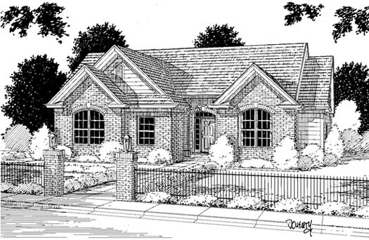 Traditional Style Floor Plans Plan: 11-132