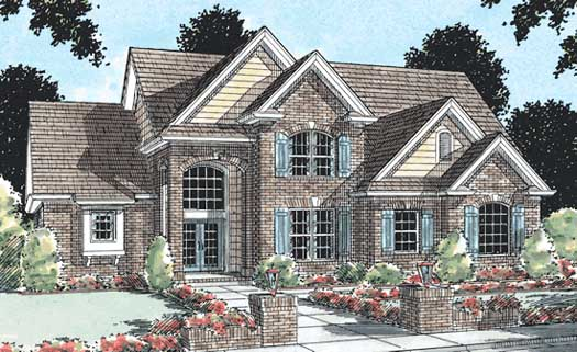 Traditional Style House Plans Plan: 11-133