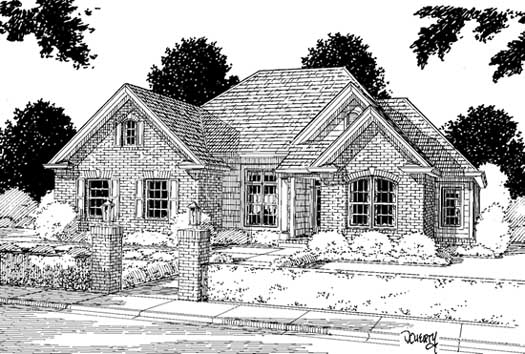 Traditional Style House Plans Plan: 11-137