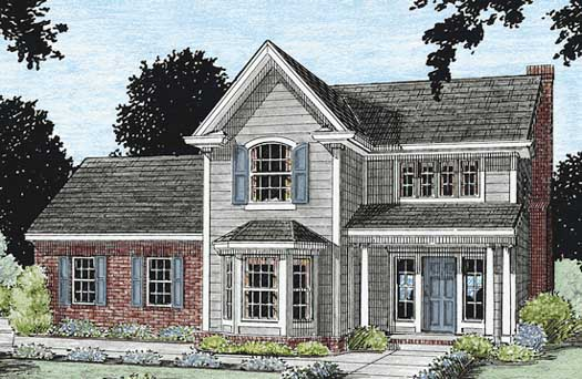 Traditional Style Floor Plans Plan: 11-139