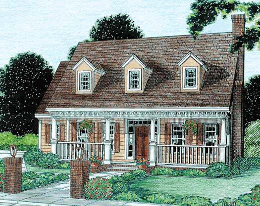 Traditional Style House Plans Plan: 11-140