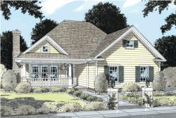 Country Style House Plans Plan: 11-142
