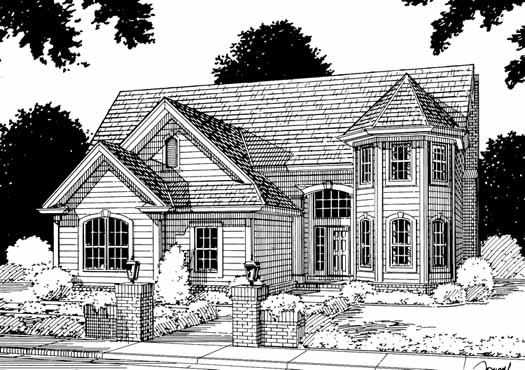 Traditional Style Floor Plans Plan: 11-144