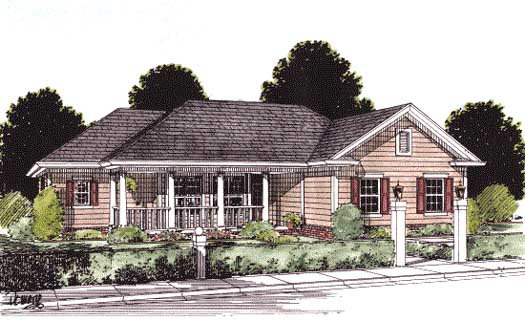 Traditional Style House Plans Plan: 11-145
