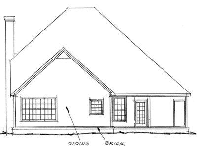 Rear Elevation Plan: 11-146