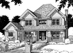 Country Style Floor Plans Plan: 11-146