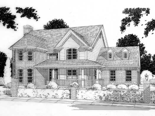 Traditional Style Floor Plans Plan: 11-149