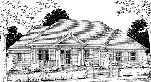 Traditional Style Floor Plans Plan: 11-165
