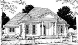 Southern Style House Plans Plan: 11-171