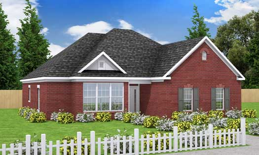 Traditional Style House Plans Plan: 11-174