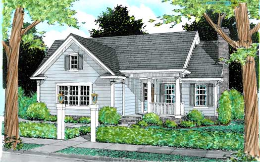 Traditional Style House Plans Plan: 11-175