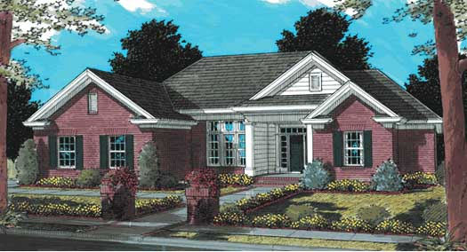 Traditional Style House Plans Plan: 11-178