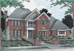 Colonial Style House Plans Plan: 11-179