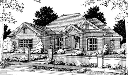 Traditional Style Floor Plans Plan: 11-185