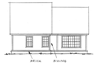 Rear Elevation Plan: 11-189