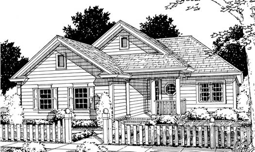 Traditional Style Floor Plans Plan: 11-191