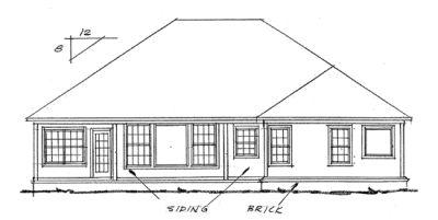 Rear Elevations Plan:11-192