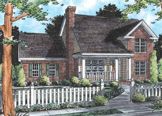 Country Style Floor Plans Plan: 11-193