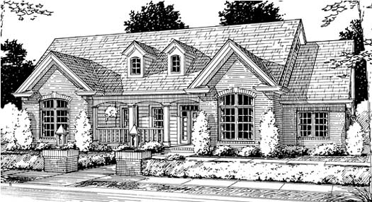 Traditional Style House Plans Plan: 11-194