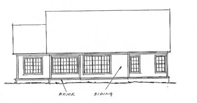 Rear Elevation Plan: 11-204